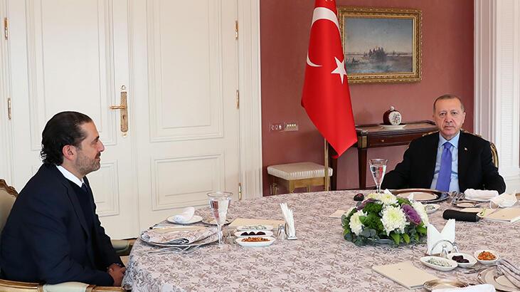 Cumhurbaşkanı Erdoğan, Saad Hariri'yle görüştü