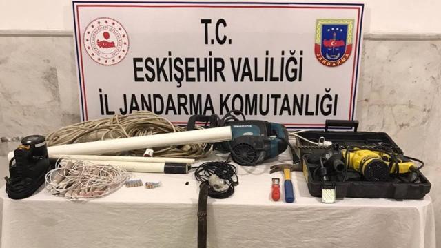 İzinsiz kazı operasyonları: 15 gözaltı