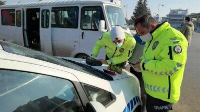 Bursa'da korsan servis trafikten men edildi