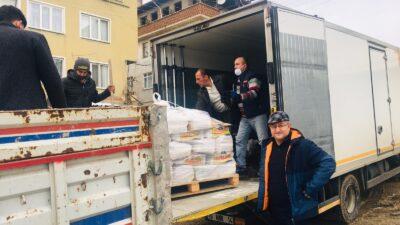 Bursa'da 300 aileye gıda yardımı!