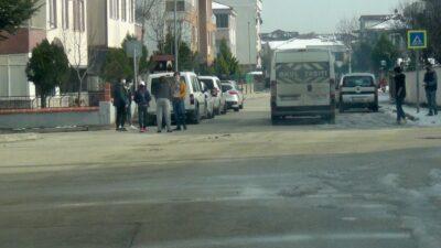 Bursa'da havalar ısındı, çocuklar sokağa koştu