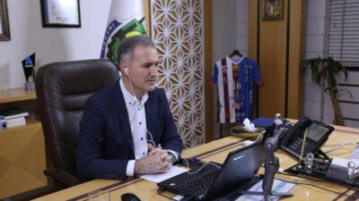 Başkan Alper Taban online halk günü düzenledi