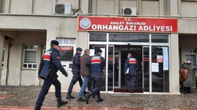 Bursa'da kablo hırsızı yakayı ele verdi