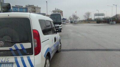 Bursa'da kadın yolcu ortalığı birbirine kattı
