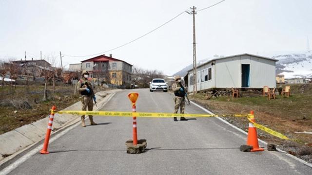 Adıyaman'da 107 ev karantinaya alındı
