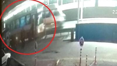 Bursa'da 1 kişinin öldüğü kazanın görüntüleri ortaya çıktı