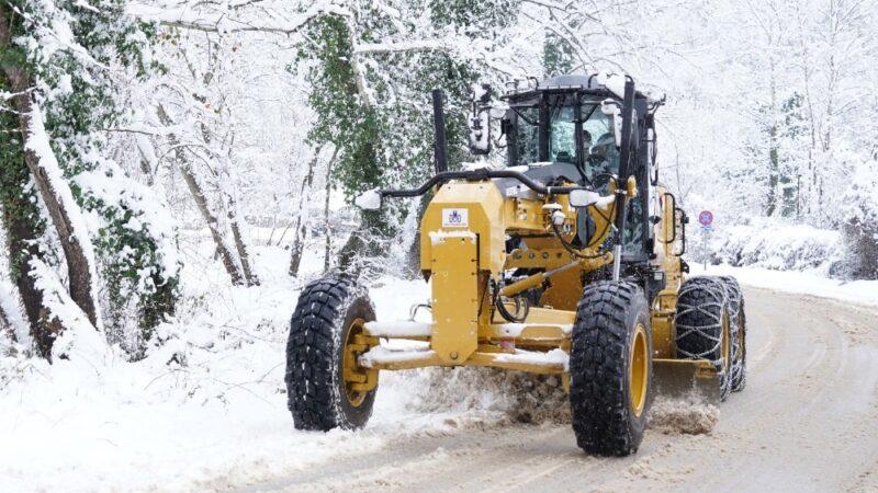 Kestel Belediyesi'nde karla mücadele seferberliği