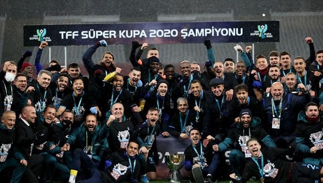 Süper Kupa Trabzonspor'un…