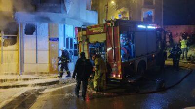 Bursa'da facidan dönüldü! Markette yangın çıktı…