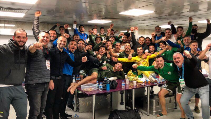 Bursaspor'dan süper galibiyet! Ankara'da altın gol…