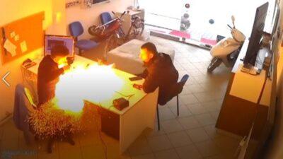 Yer: Bursa… Elindeki tablet bomba gibi patladı
