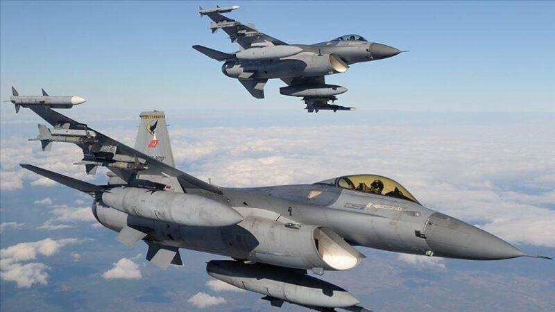 Irak'ın kuzeyine hava harekatları: 4 PKK'lı etkisiz hale getirildi