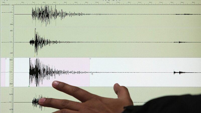 Gökçeada açıklarında 4,1 büyüklüğünde deprem