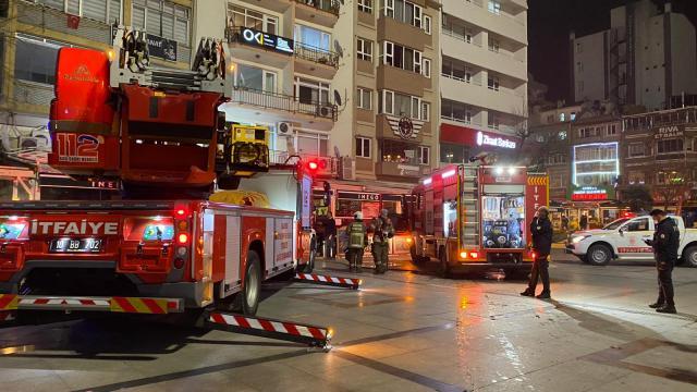 Balıkesir'de restoran yangını