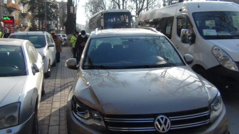 Bursa'da yayaya çarpan sürücü şoka girdi