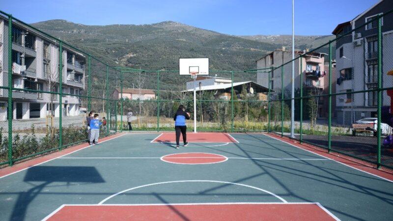 Karacabey'e basketbol sahası yapılacak…