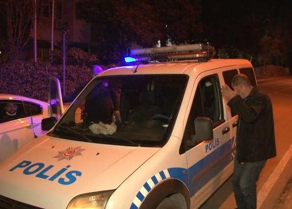 Bursa'da yeni yılın ilk cezasını sokakta dolaşırken yedi