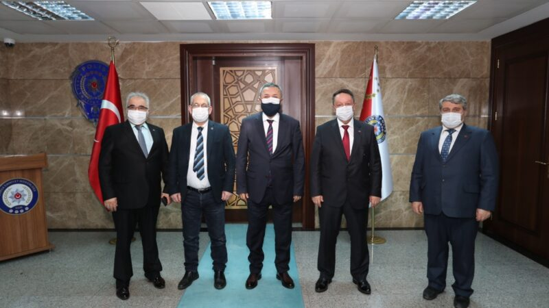 Büyük Birlik Partisi'nden Emniyet Müdürü Aslan'a ziyaret…