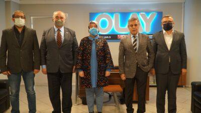 AK Parti Milletvekili Gözgeç'ten OLAY Medya'ya ziyaret…
