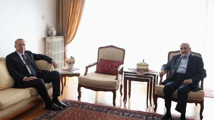 Cumhurbaşkanı Erdoğan'dan sürpriz ziyaret…
