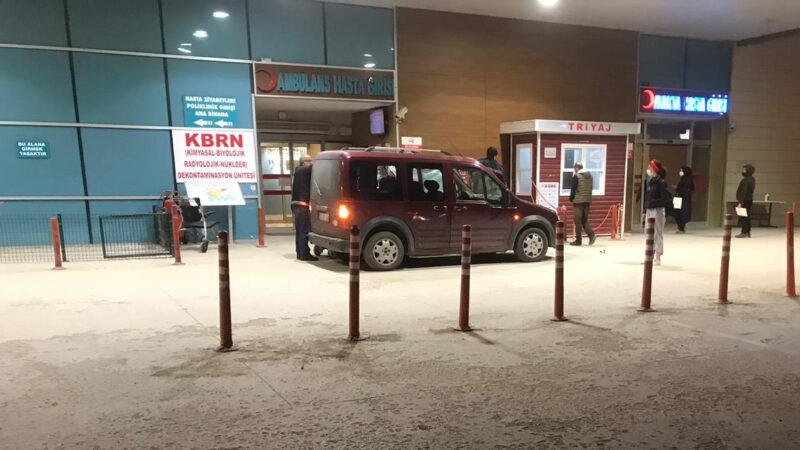 Bursa'da hamile kadın araçta doğum yaptı