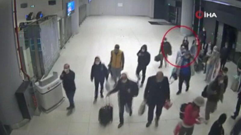 PKK'lı terörist yurtdışına kaçmak isterken yakalandı