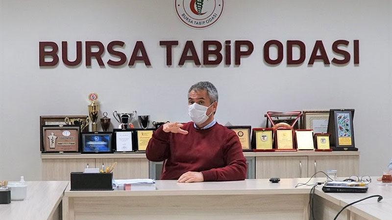 Bursa Tabip Odası'ndan çarpıcı iddia: 'Huzurevlerinde Covid ölümleri yaşandı'