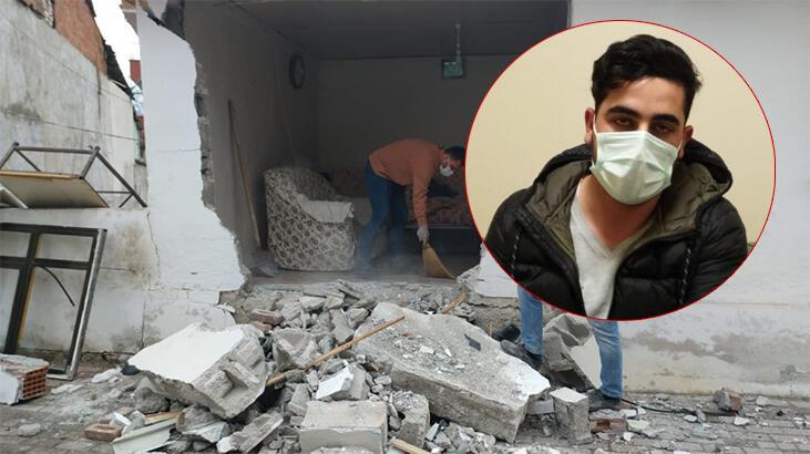 Bursa'da evde televizyon izliyordu, neye uğradığını şaşırdı