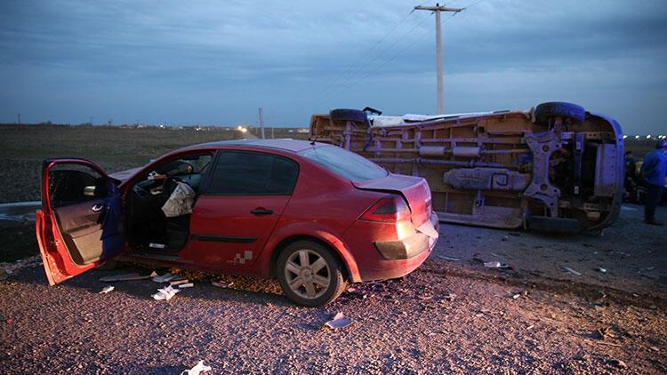 Feci kaza! 10 kişi yaralı