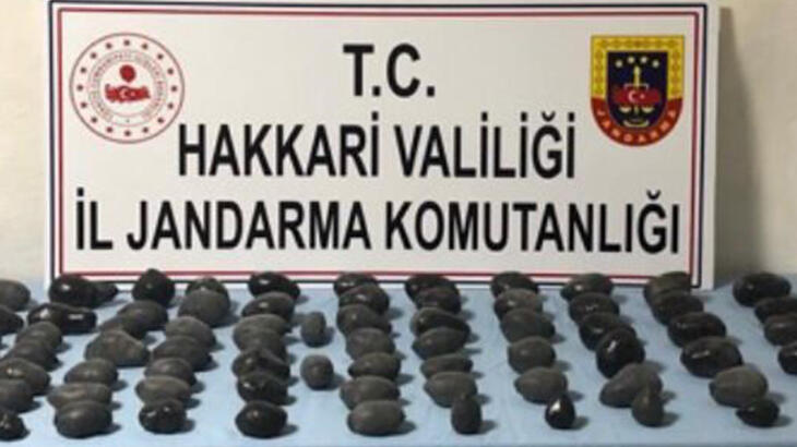 Hakkari'de uyuşturucu operasyonu! 23 kilo eroin ele geçirildi