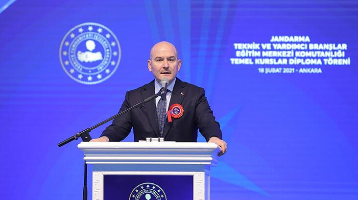 Bakan Soylu'dan flaş açıklamalar: Hainler Türk-Kürt bakmadan katletti