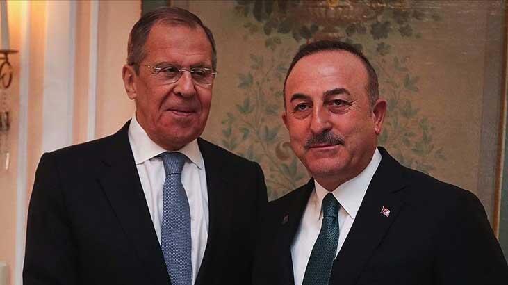 Bakan Çavuşoğlu, Rus mevkidaşı Lavrov'la görüştü