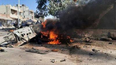 Pazar yerinde patlama: 2 ölü, 7 yaralı