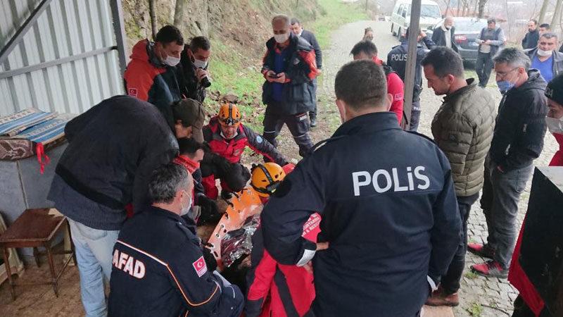 Bursa'da 33 saat sonra bulundu! İlk sözü 'üşüyorum' oldu