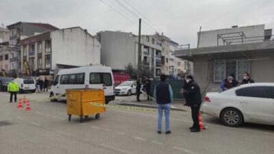 Bursa'da akıl almaz anlar! Trafiği birbirine kattı