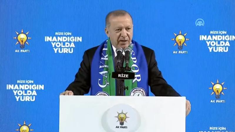 Cumhurbaşkanı Erdoğan'dan çok sert Gara tepkisi…