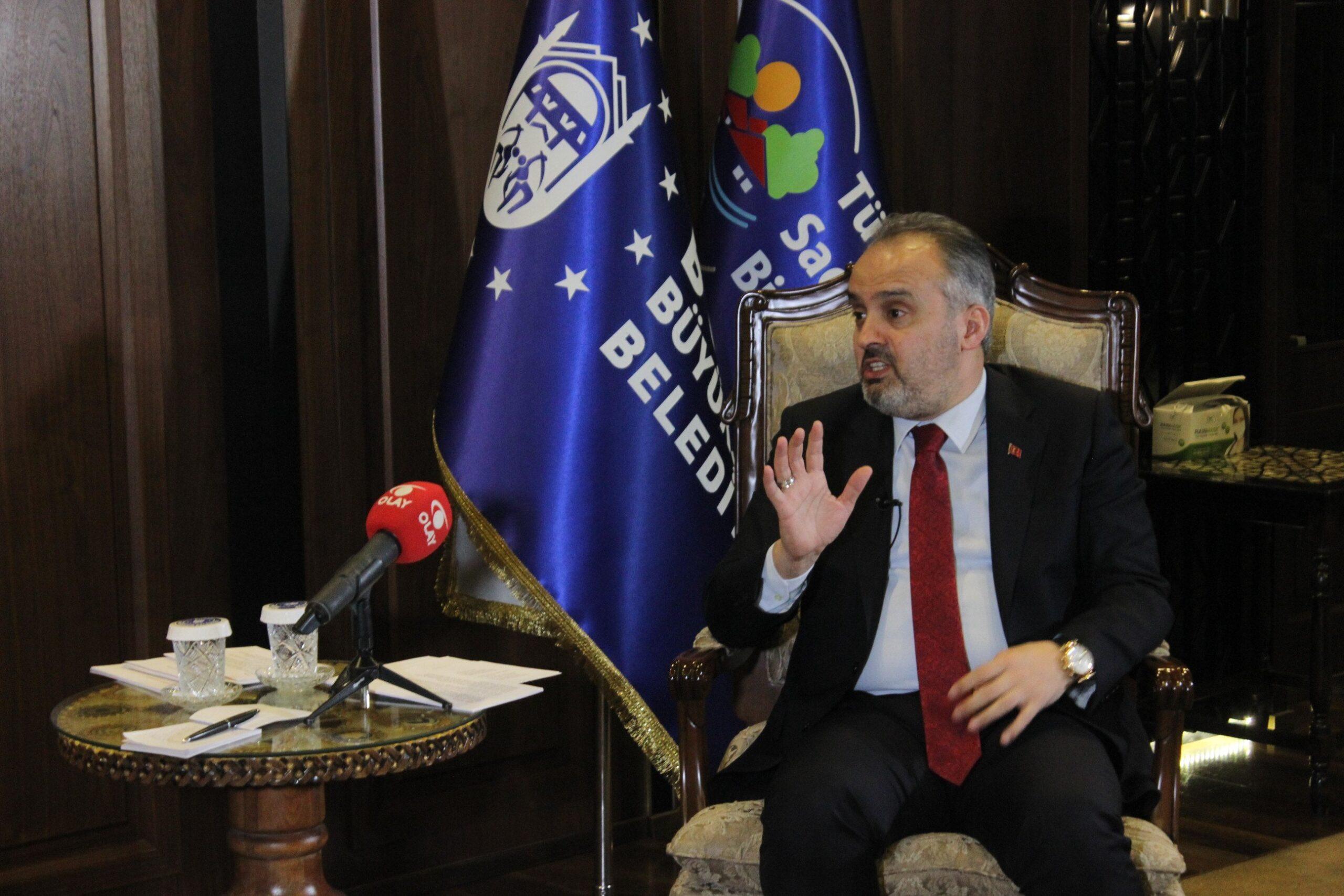 Başkan Aktaş'tan Bursa'ya 3 mesaj bir müjde! OLAY'dan ses getirecek röportaj…