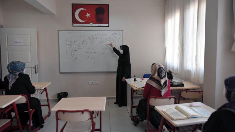 OSMEK'te Kur'an kursuna büyük ilgi