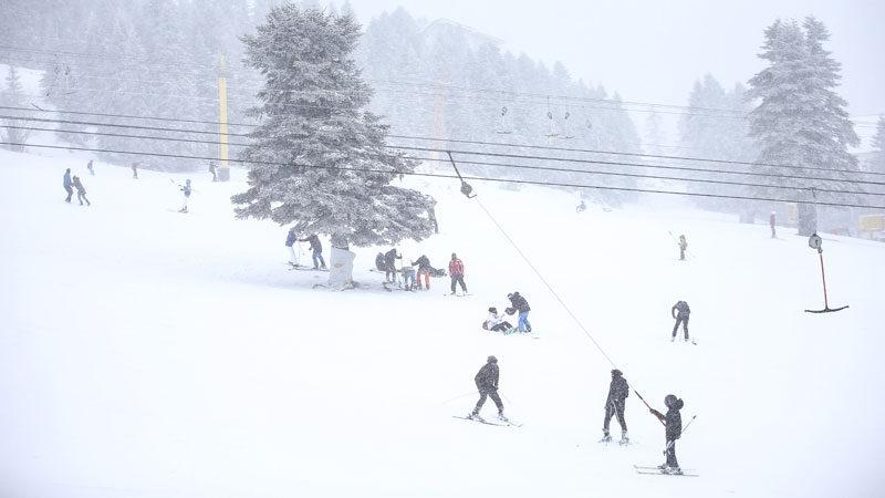 Uludağ'da kar kalınlığı ne kadar oldu? İşte son durum…
