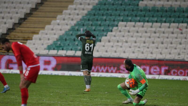 Bursaspor'u resmen ipten aldı!