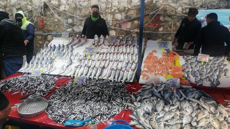 Kar yağdı Bursa'da balık fiyatları ne oldu?