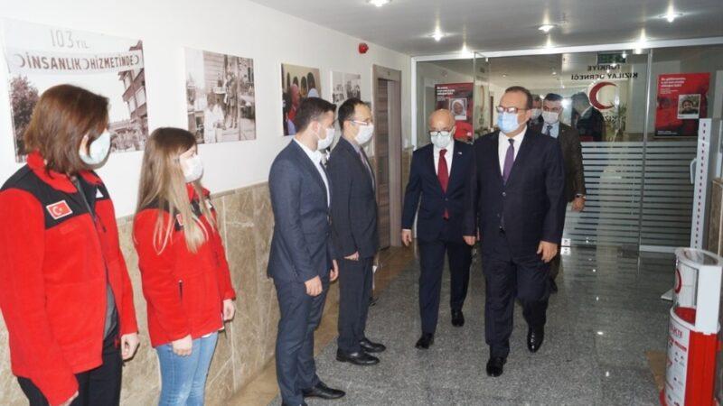 Canbolat: Türk Kızılay umut oluyor