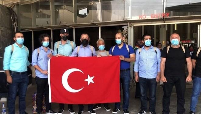 Denizciler Türkiye'ye dönüyor…