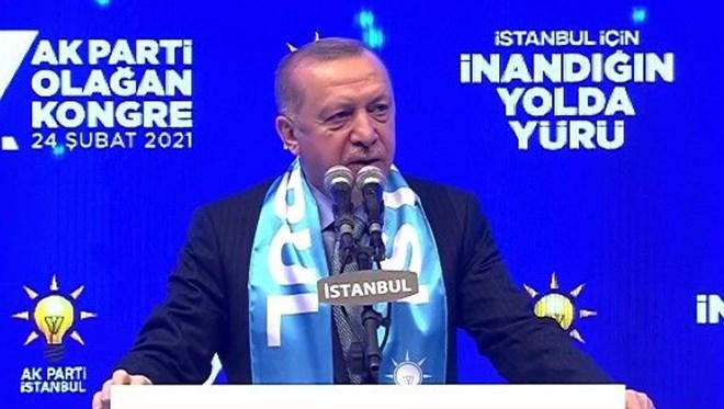 Cumhurbaşkanı Erdoğan açıkladı; Kanal İstanbul'u yapacağız
