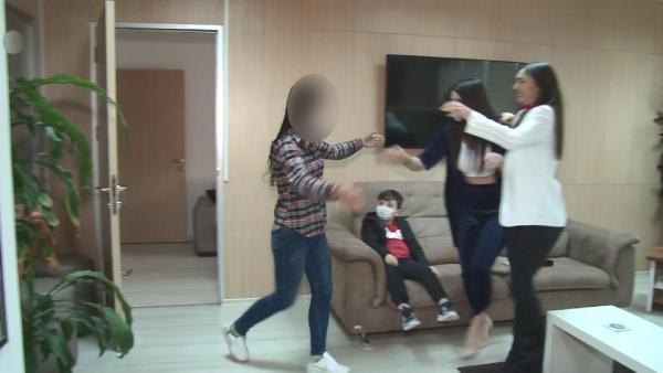 İkna sonucu teslim olan terörist, Bursa'da ailesiyle buluştu