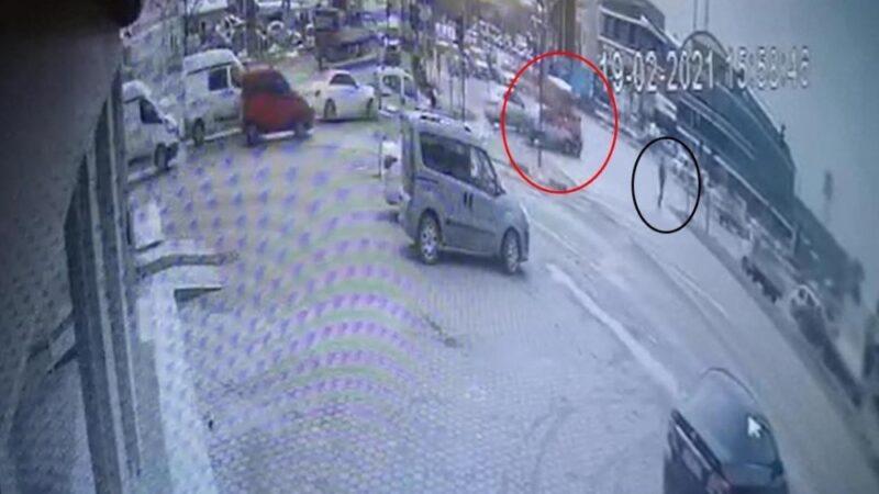 Bursa'daki feci kaza kamerada
