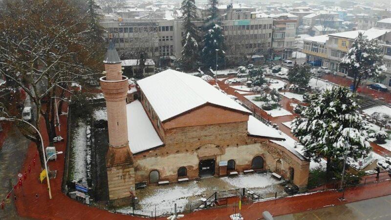 Görüntüler Bursa'dan… Kar yağışı sonrası…