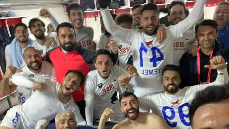 2.Lig'deki Bursa ekibinden süper skor!