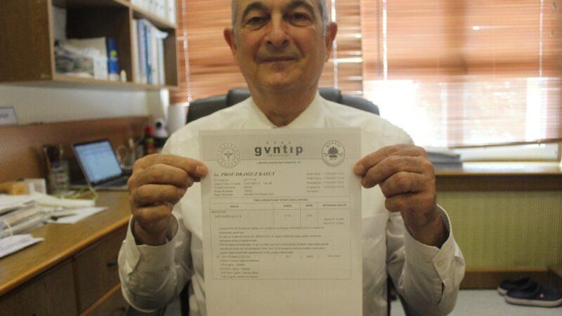 Bursa'da korona aşısı olan anabilim başkanı antikor sonuçlarını paylaştı, gören sıraya girdi