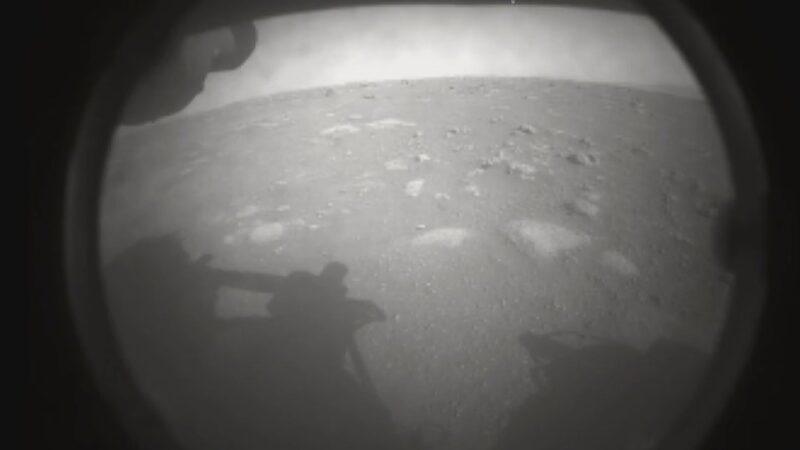 Mars'tan ilk fotoğraf! Tarihi iniş…